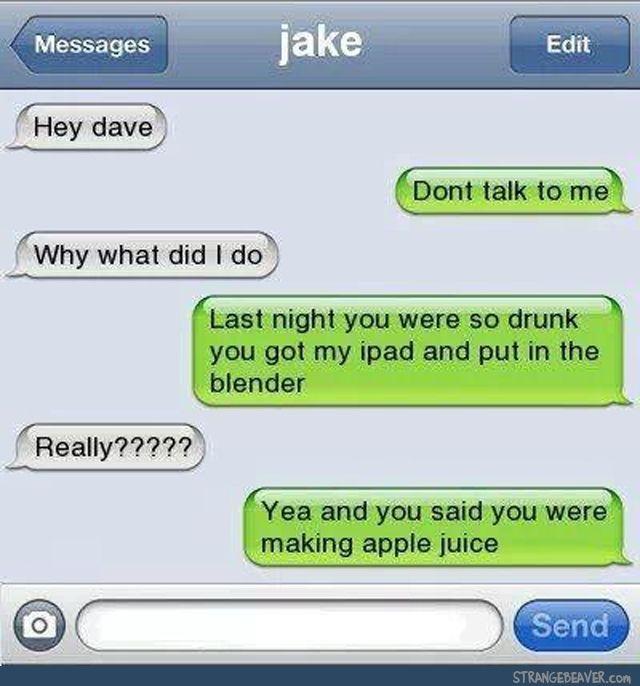 text msg jokes