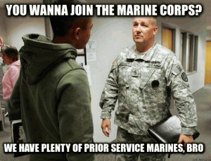 Army jokes about marines