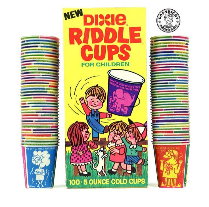 Dixie cup jokes