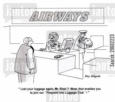 Lost luggage Jokes