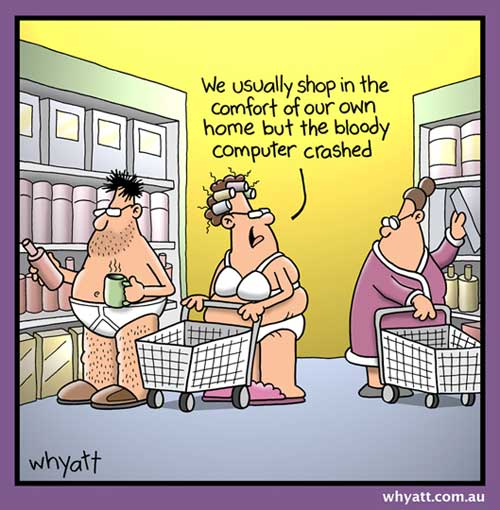 Online adult humor
