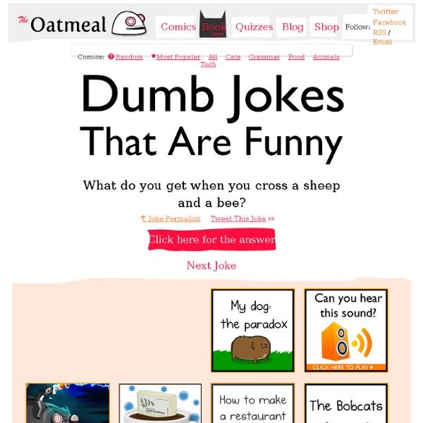 Random stupid jokes