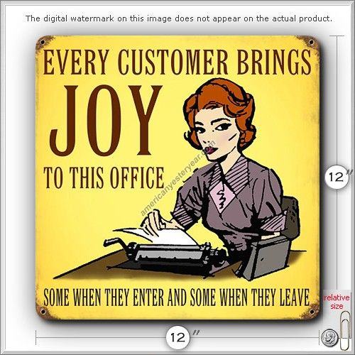 Inspirational Customer Service Quote Humor: Office Work Jokes