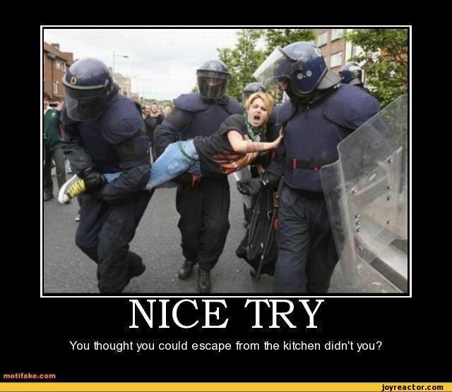 Women Kitchen Jokes