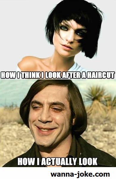 Short Hair Jokes