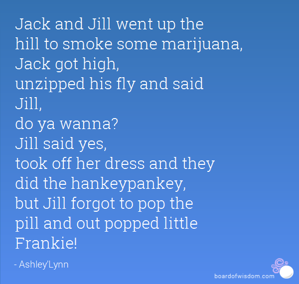Jack And Jill Went Up The Hill Jokes