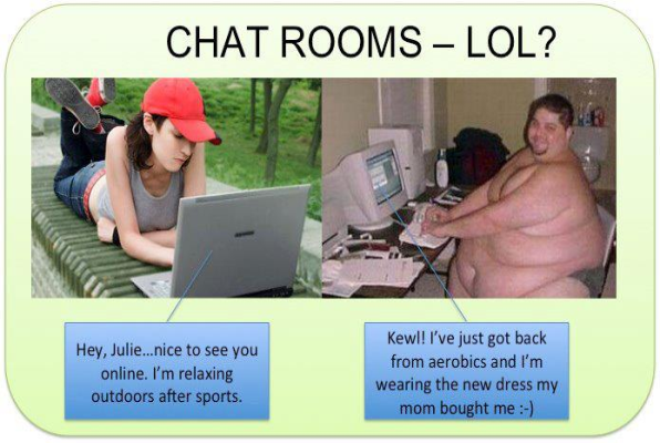 Can Funny chat room jokes something