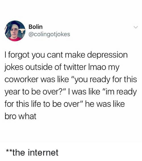 Depression jokes one liners