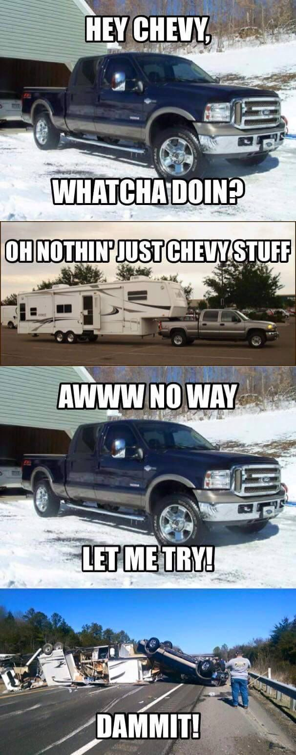 Ford And Chevy Jokes