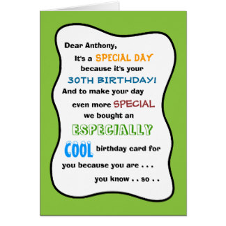 Funny 30th Birthday Gifts On Zazzle