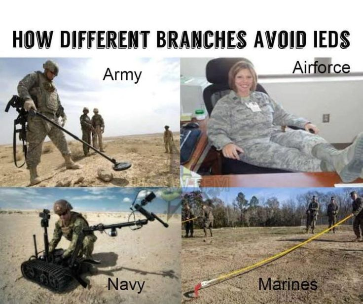 What Is The Best Military Branch >> Military Branch Jokes