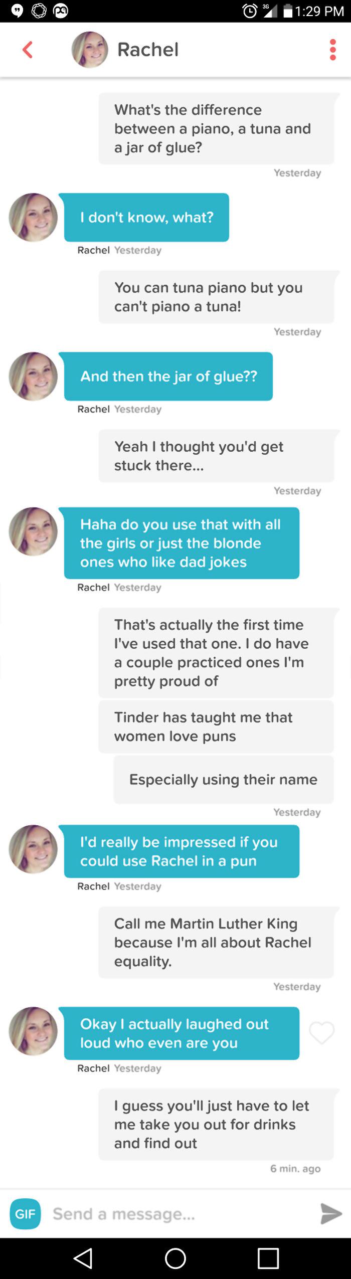 Tinder Jokes