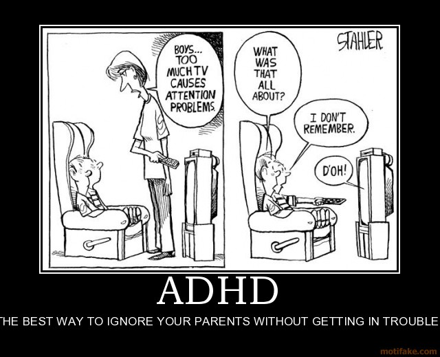 Funny adhd Jokes