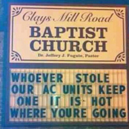 Funny church Jokes