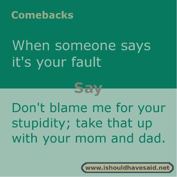 Good comebacks to your mom Jokes