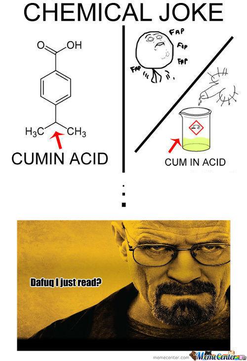 Chemical reaction Jokes