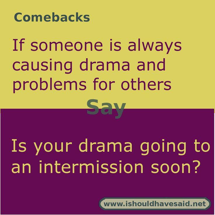 Comeback Jokes