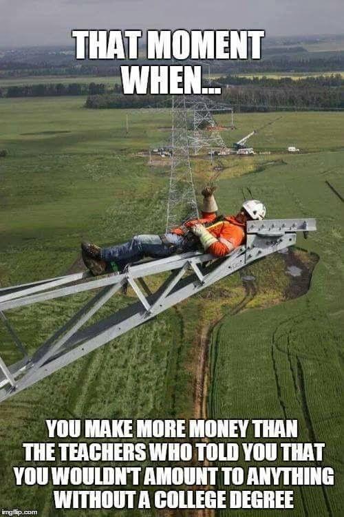 Electrical Lineman Jokes