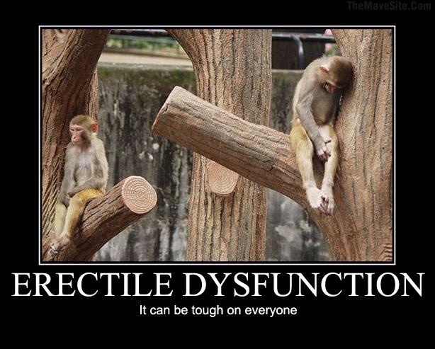Sexual dysfunction jokes