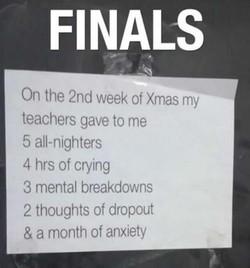 School finals Jokes